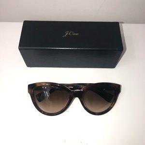 J. Crew Brown Tortoise Sunglasses